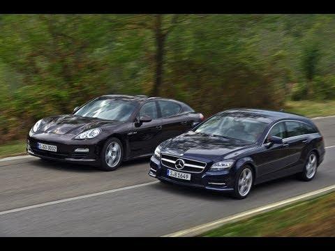 Mercedes CLS Shooting Brake vs. Porsche Panamera