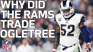 Why Did the Rams Trade Alec Ogletree to the Giants? | Total Access | NFL