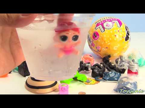 LOL Surprise Confetti Pop Series 3 Wave 2 RARE Find, Lil Sisters, and 5 Surprises