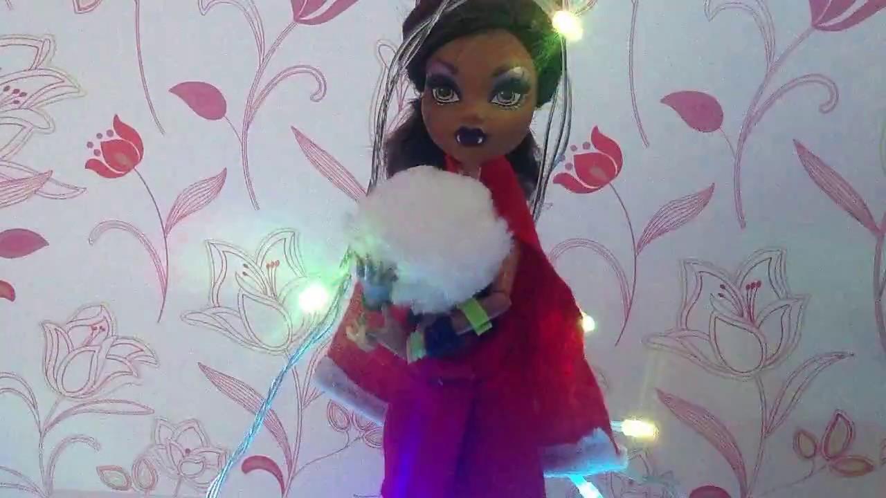 Мастер класс на новогодний костюм для куклы(видео на ... - photo#16