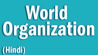 World Organization in Hindi