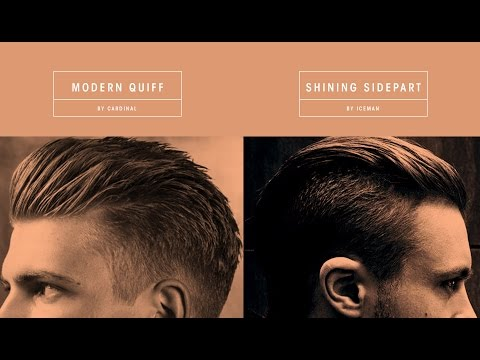 how to cut a modern quiff