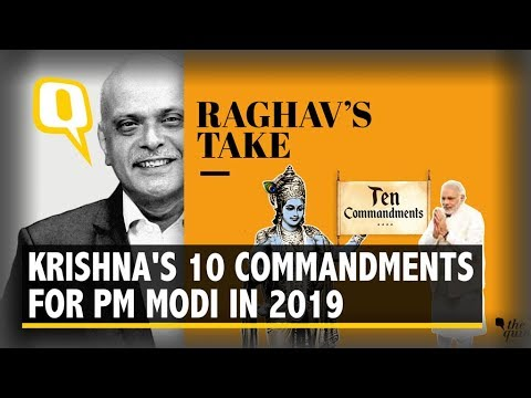 10 Commandments Lord Krishna Would Lay Down for PM Modi in 2019 | The Quint