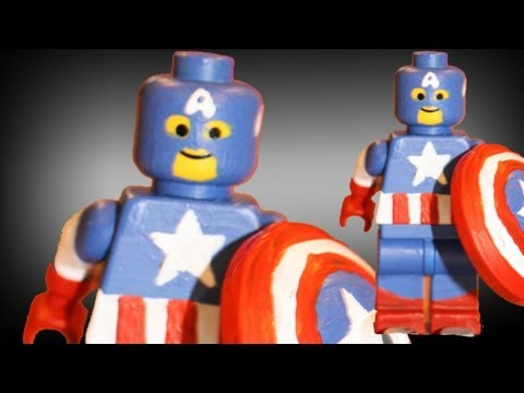 Lego captain america tutorial the avengers youtube - Lego capitaine america ...