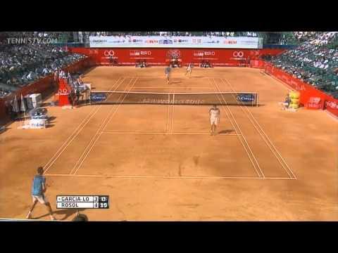 L Rosol vs G. Garcia-Lopez ATP Bucharest 2013 final) Highlights