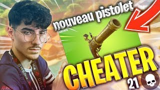 THE NEW ARME IS CHEATED (21 KILLS) FORTNITE BATTLE ROYALE
