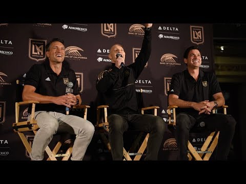 Bob Bradley's Introductory Press Conference with LAFC