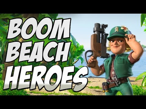BOOM BEACH HEROES UPDATE// SGT BRICK and Her Abilities