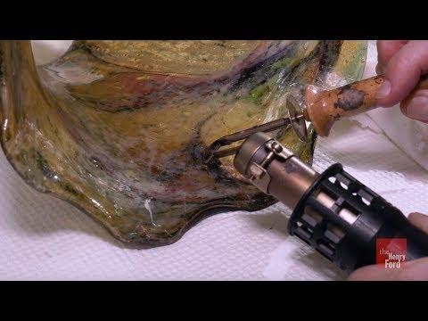 Restoring A Broken Steuben Glass Lampshade