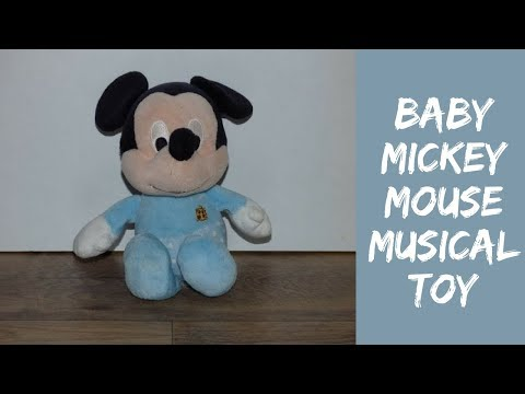 Mickey mouse musical baby toy