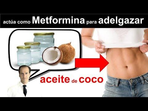 uso del coco para bajar de peso