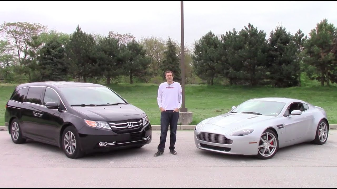 The $45,000 Question: Used Aston Martin or Honda Odyssey Touring Elite?