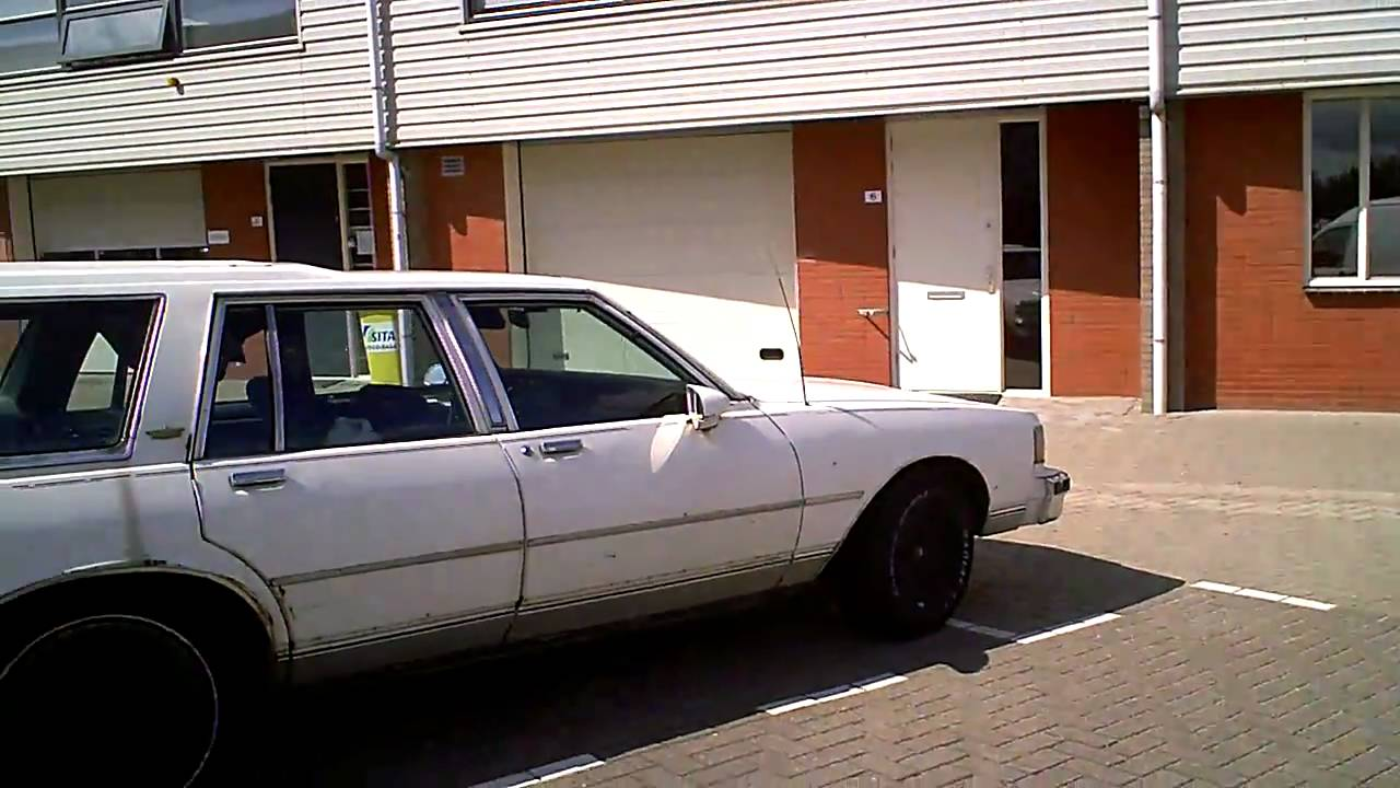 CHEVROLET Caprice Classic station wagon 1988 rusted !! - YouTube