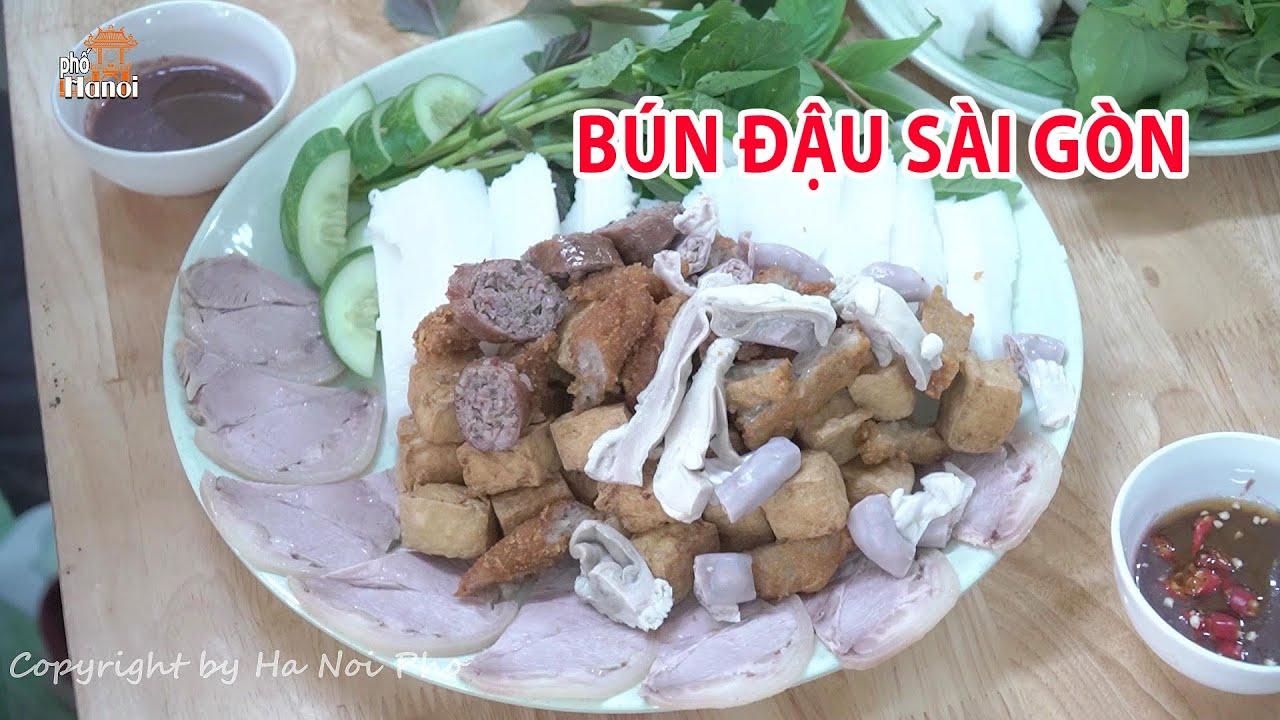 Thèm Bún đậu mắm tôm Hà Nội giữa Sài Gòn ăn ở đâu ngon #hnp