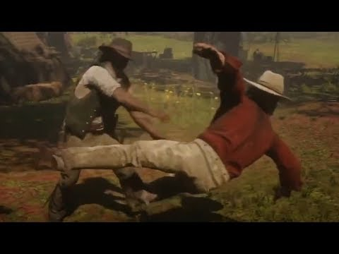 Micah Beaten And Antagonized At The Camp Red Dead Redemption 2 thumbnail