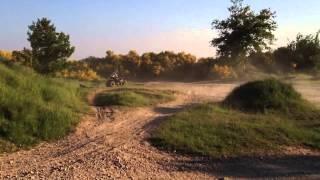 Quad bike fail!!! Drifting goes wrong.