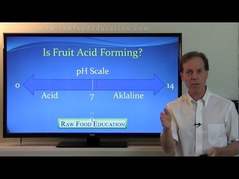 Is Fruit Acidic? pH of Orange Mono Meal Diet