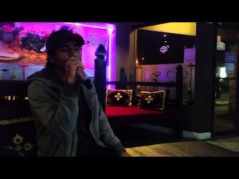 Imitating Andy's voice in Karaoke: Tange Ghoroob