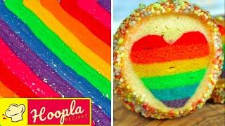 Yummy Desserts | Rainbow Treats | Hoopla Recipes