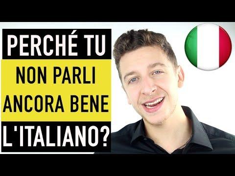 1/4 Capisco l'italiano MA non riesco ANCORA a parlare bene... | Imparare l'italiano