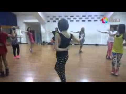 Cherrybelle   Dunia Tersenyum Dance Practice   Circle