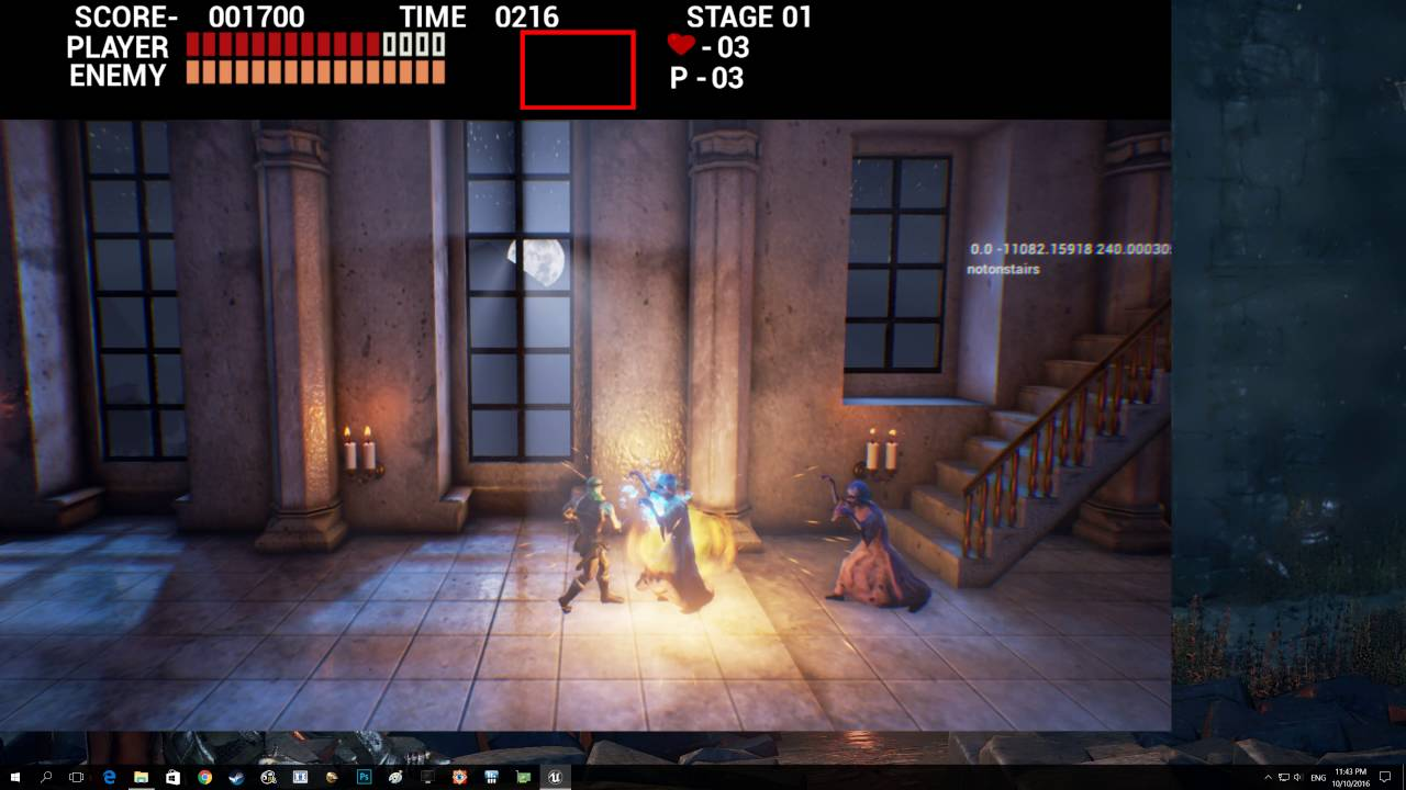 Castlevania Remake level 1 Unreal Engine 4 , 4k 60fps