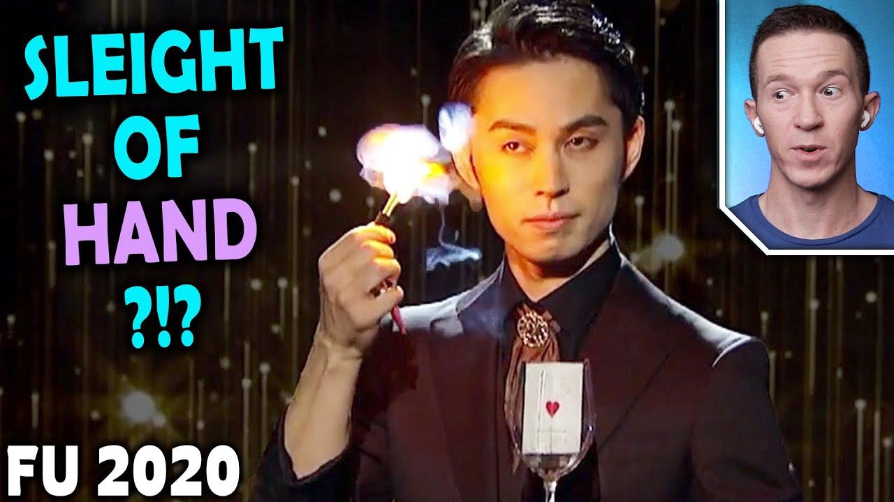 Magician REACTS to Yukihiro Katayama VISUAL CARD MAGIC on Penn and Teller FOOL US 2020