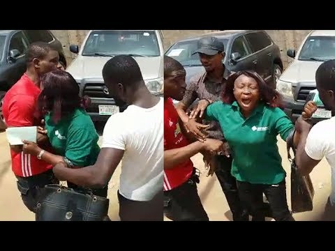 Man and Woman Fight Over Esusu Money in Lagos