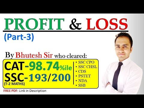 profit and loss questions for ssc pdf