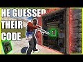 HE GUESSED THEIR CODE!  (Pt.2 of 2)| Vanilla Rust