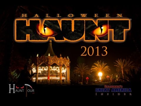 Halloween Haunt 2013 - California's Great America - YouTube