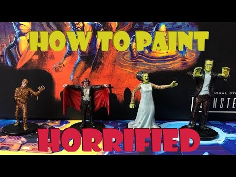 How to paint Horrified (with Contrast Paints)