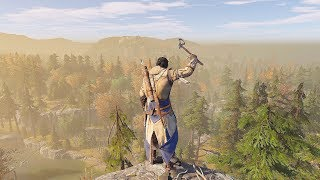 Assassin's Creed 3 Remastered Master Assassin Connor Epic Combat, Stealth Kills & Free Roam Gameplay