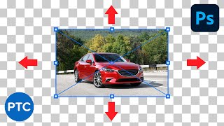 How To Resize aฑ Image WITHOUT Stretching It - Photoshop Tutorial