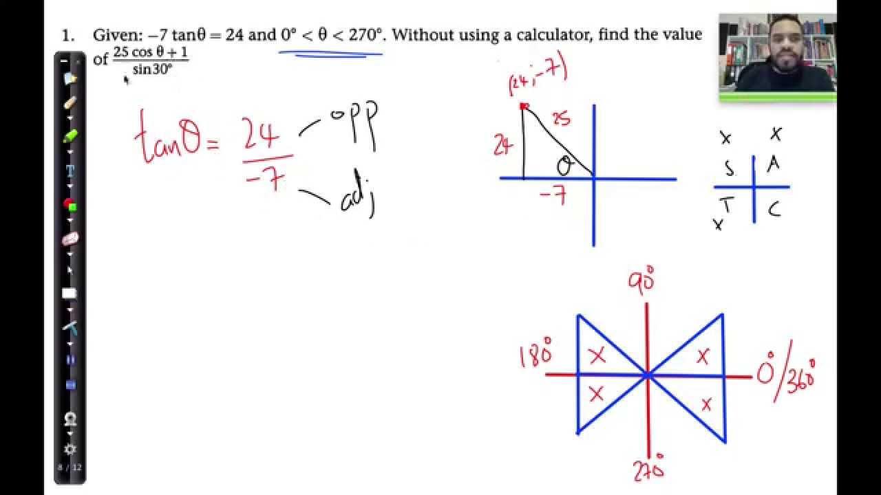 06 trig revision q1 diagrams required multi quadrant question 06 trig revision q1 diagrams required multi quadrant question revision exervise ccuart Gallery