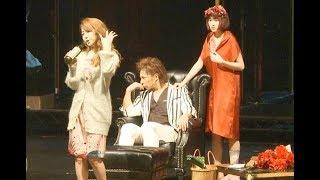 「三文オペラ」公開フォトコール 松岡充主演!吉本実憂と峯岸みなみ 初舞台!!