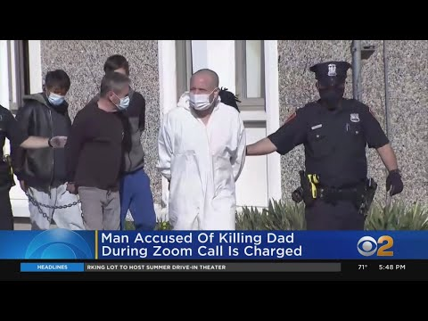 Man Accused Of Killing Dad During Zoom Call Is Charged