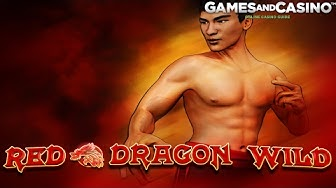 "Online casino slot ""Red Dragon Wild"" (review)"