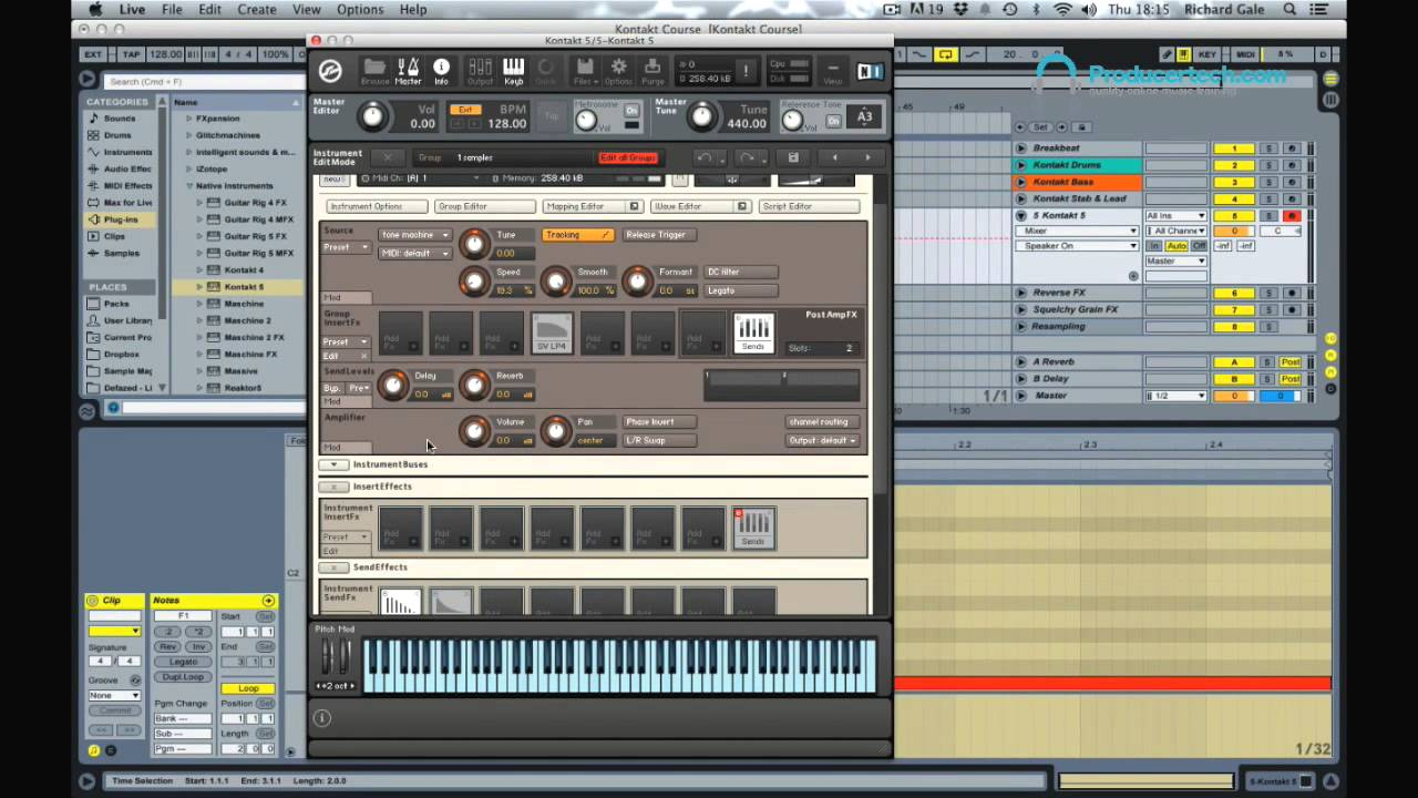 How to make pad presets from FX samples - Free Kontakt Tutorial