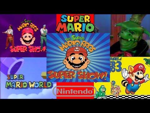 Super Mario - All Tv Show intros