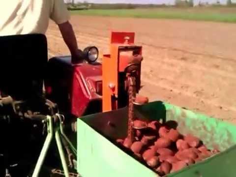 Мини трактор Синтай 24В - YouTube
