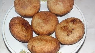 How To make Suji Kakra Pitha Special With Coconut stuffing Video In Hindi