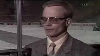 Rauno Korpi, Suomi - Ruotsi MM 1986