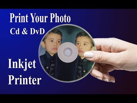 How To Print Your Photo On Cd & Dvd Using Inkjet Printer