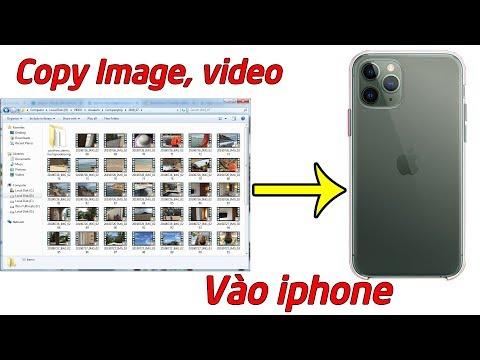 Cách Copy ảnh Từ Máy Tính Vào Iphone
