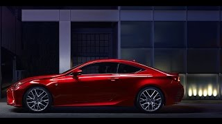 The new luxury coupe Lexus RC 200T, 2016 year concept