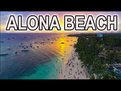 Alona Beach Panglao, Bohol, Philippines 4K