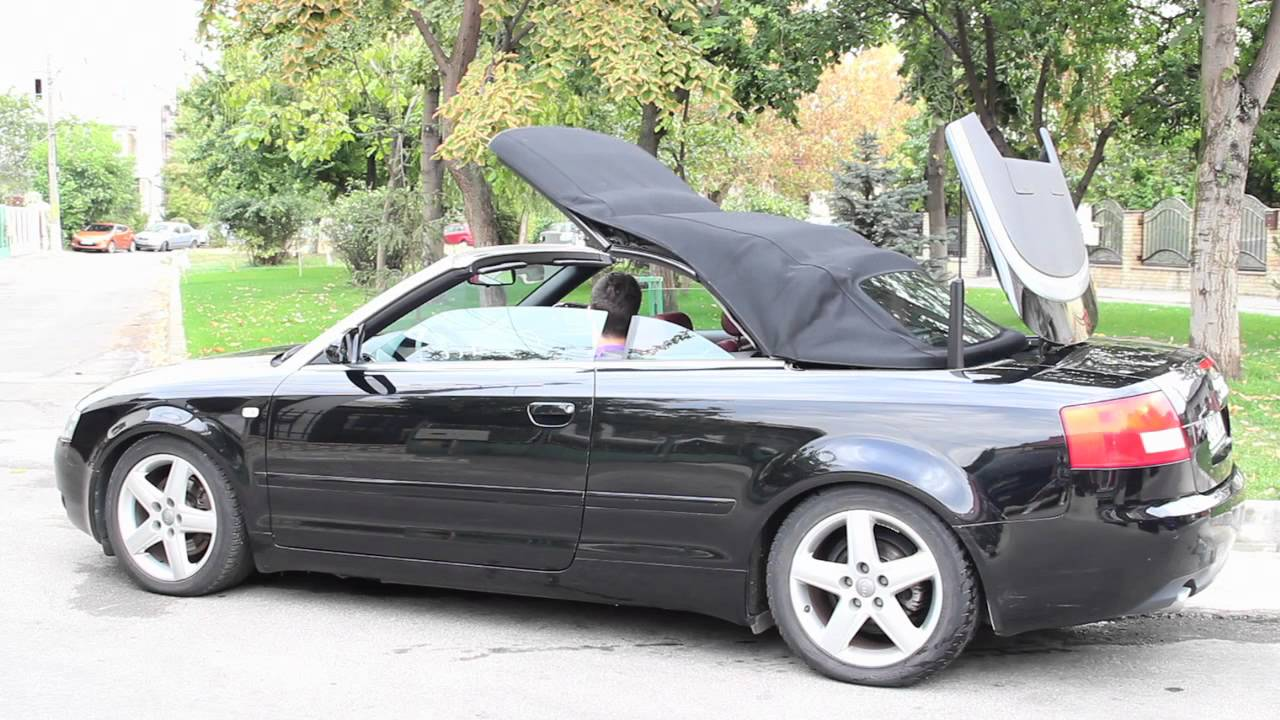 audi a4 cabrio 1 8t youtube. Black Bedroom Furniture Sets. Home Design Ideas