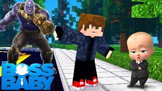 Minecraft - O PODEROSO CHEFINHO ME AJUDOU A DERROTAR O THANOS !