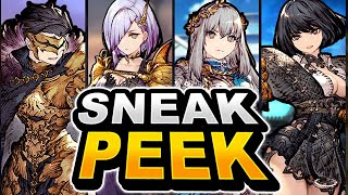Sneak Peak Upcoming (Best Of) Non-Limited EX Unit Upgrades! WoTV! War Of The Visions!